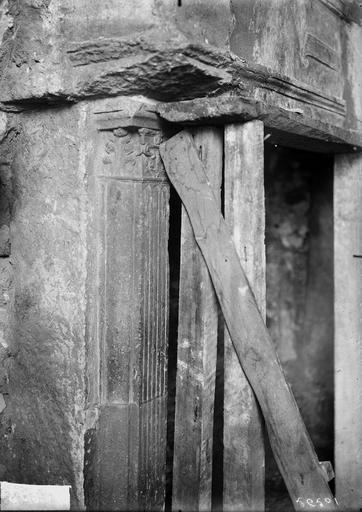 Maison Cheminée, montant, Verneau, G.,