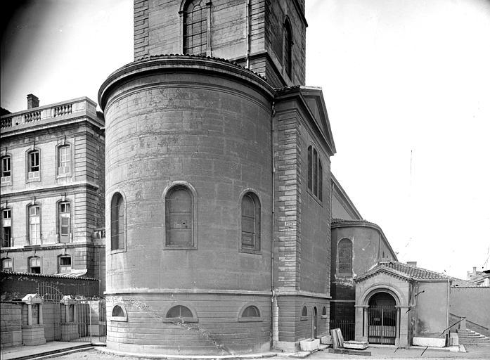 Eglise Saint-Irénée Abside, côté nord-est, Mieusement, Médéric (photographe),