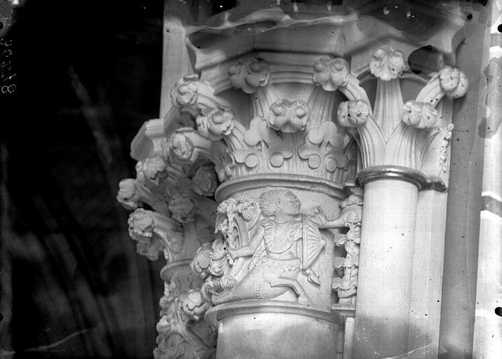 Cathédrale Notre-Dame Chapelle Saint-Joseph, chapiteau, Lajoie, Abel,