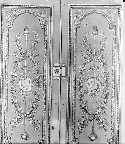Palais de l' Elysée Porte, vantaux, Durand, Eugène (photographe),