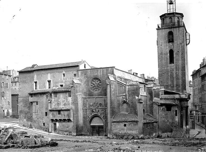Eglise Saint-Martin (ancienne) Ensemble ouest, Mieusement, Médéric (photographe),