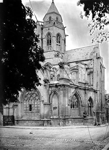 Eglise de Saint-Etienne-le-Vieux (ancienne) Ensemble, Robert, Paul (photographe),