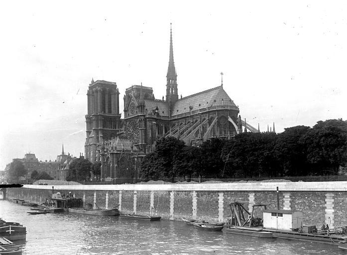 Cathédrale Notre-Dame Ensemble sud-est, Chaine, Henri (architecte),
