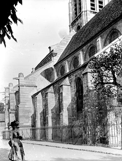 Eglise Partie latérale, Chaine, Henri (architecte),