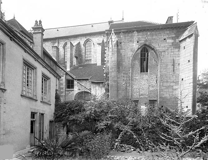 Cathédrale Saint-Vincent (ancienne) Façade sud : Sacristie et trésor, Heuzé, Henri (photographe),