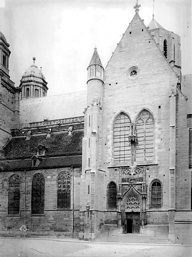 Eglise Saint-Michel Transept et nef, au sud, Durand, Eugène (photographe),