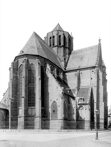 Eglise Saint-Michel Abside, Durand, Eugène (photographe),