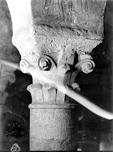 Cathédrale Notre-Dame Intérieur, chapiteau : crosses et volutes, Mieusement, Médéric (photographe),