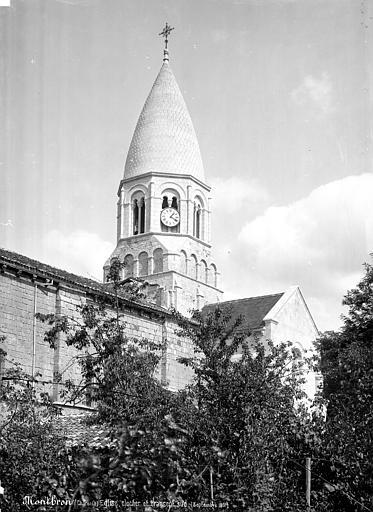 Eglise Saint-Maurice Clocher, côté sud-ouest, Mieusement, Médéric (photographe),