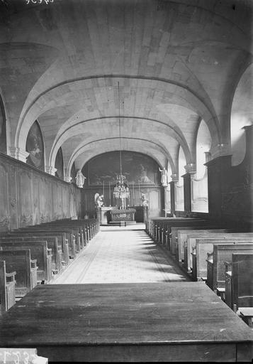 Abbaye aux Hommes (ancienne) Chapelle, Service photographique,
