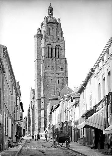 Eglise Notre-Dame Clocher, côté sud, Mieusement, Médéric (photographe),