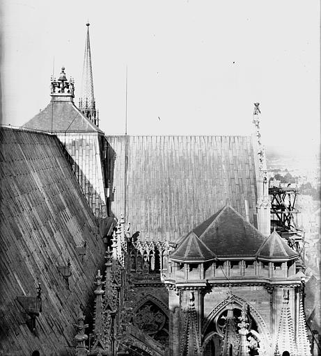 Cathédrale Notre-Dame Toiture du bras sud du transept, Lajoie, Abel,