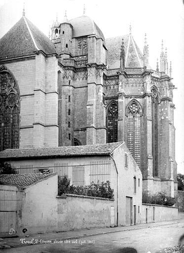 Cathédrale Saint-Etienne (ancienne) Abside, côté sud, Mieusement, Médéric (photographe),