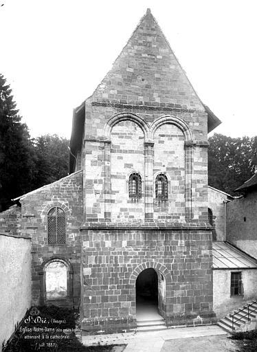 Eglise Notre-Dame de Galilée dite Petite église Façade ouest, Mieusement, Médéric (photographe),