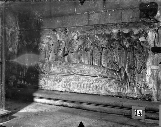 Chapelle des Carmélites Tombeau dit de saint Hilaire, Gossin (photographe),