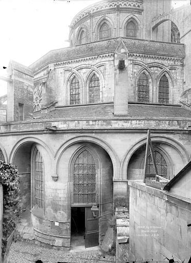 Abbaye aux Hommes (ancienne), Eglise Saint-Etienne Abside, côté nord, Durand, Jean-Eugène (photographe),