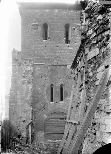 Abbaye Saint-Martin-des-Champs (ancienne)/Eglise Saint-Martin-des-Champs Clocher, côté est, Durand, Eugène (photographe),