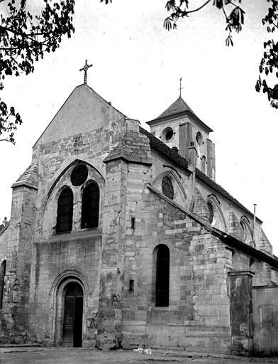 Eglise Ensemble sud-ouest, Chaine, Henri (architecte),