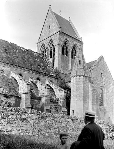 Eglise Clocher et transept, Chaine, Henri (architecte),