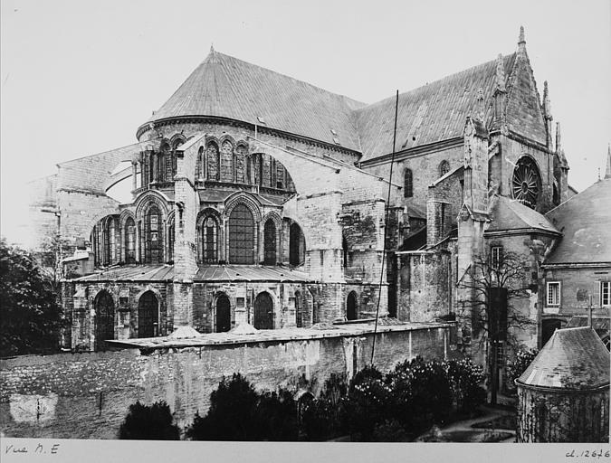 Eglise Saint-Remi Ensemble nord-est, Durand, Jean-Eugène (photographe),