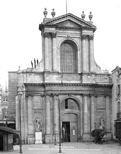 Eglise Saint-Etienne (ancienne) Façade ouest, Neurdein (frères) ; Neurdein, Louis ; Neurdein, Louis (photographe),