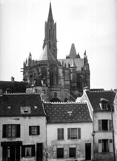 Cathédrale (ancienne) Ensemble est, Durand, Eugène (photographe),