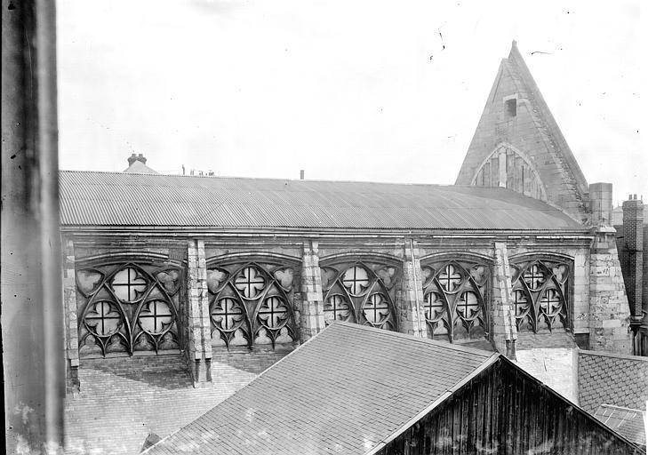 Eglise des Augustins Façade latérale, Enlart, Camille (historien),