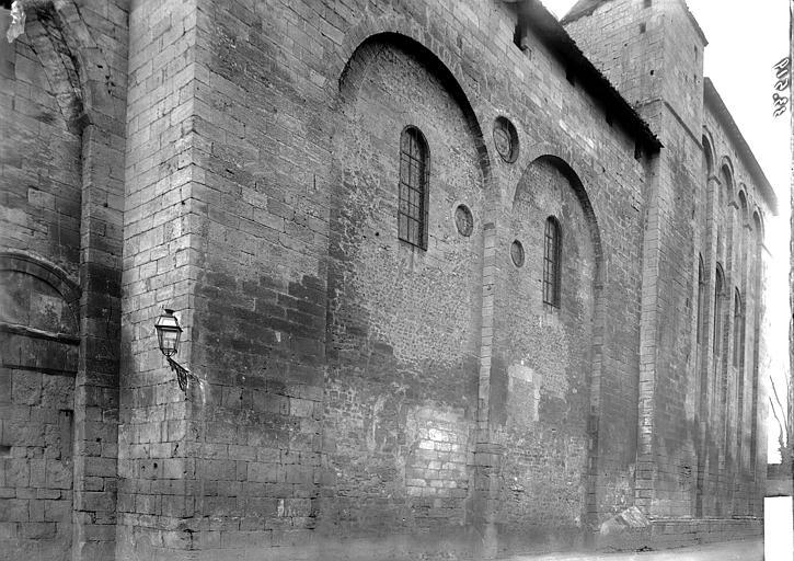 Eglise Saint-Etienne-de-la-Cité Façade latérale, Enlart, Camille (historien),