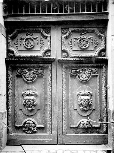 Immeuble Porte d'entrée, Durand, Jean-Eugène (photographe),