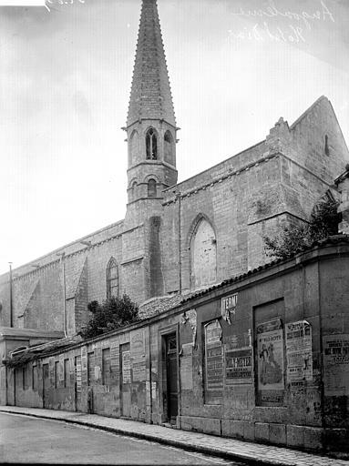 Hôtel-Dieu Vue extérieure, Enlart, Camille (historien),