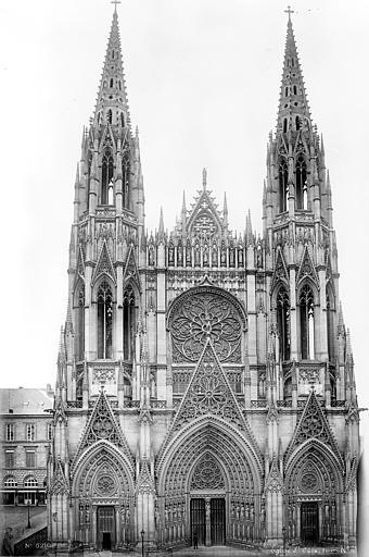 Eglise Saint-Ouen Façade ouest, Mieusement, Médéric (photographe),