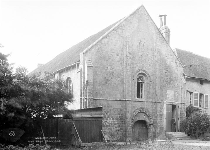 Château Salle de l'échiquier, Durand, Jean-Eugène (photographe),