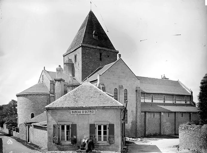 Prieuré de Locmaria (ancien) Eglise : ensemble nord, Mieusement, Médéric (photographe),