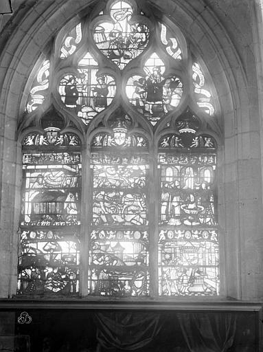 Eglise Saint-Nizier Vitraux, fenêtre I, Lancelot, Gustave,