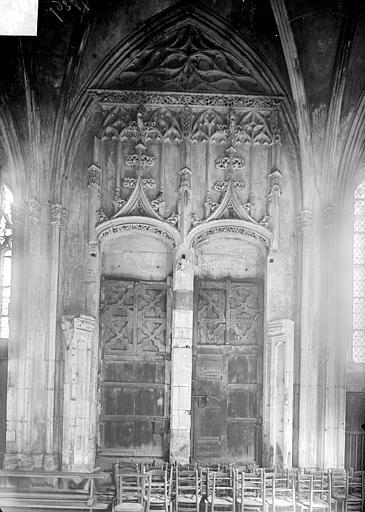 Eglise Saint-Pierre Revers du portail nord, Heuzé, Henri (photographe),