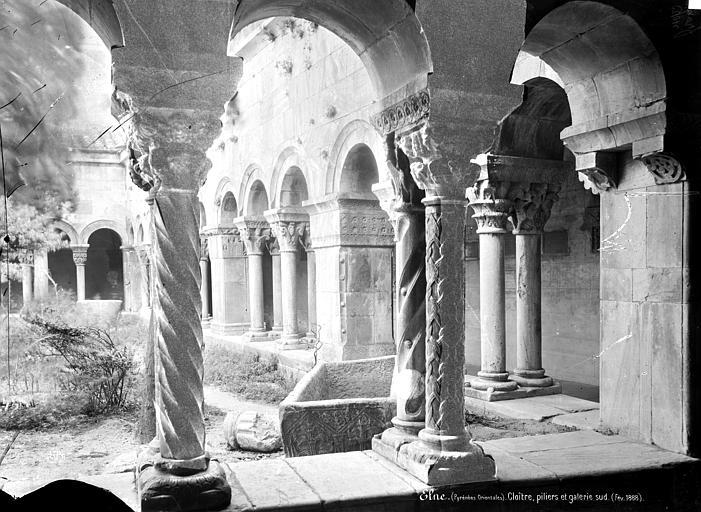 Eglise Cloître : Vue intérieure de la galerie sud, Mieusement, Médéric (photographe),