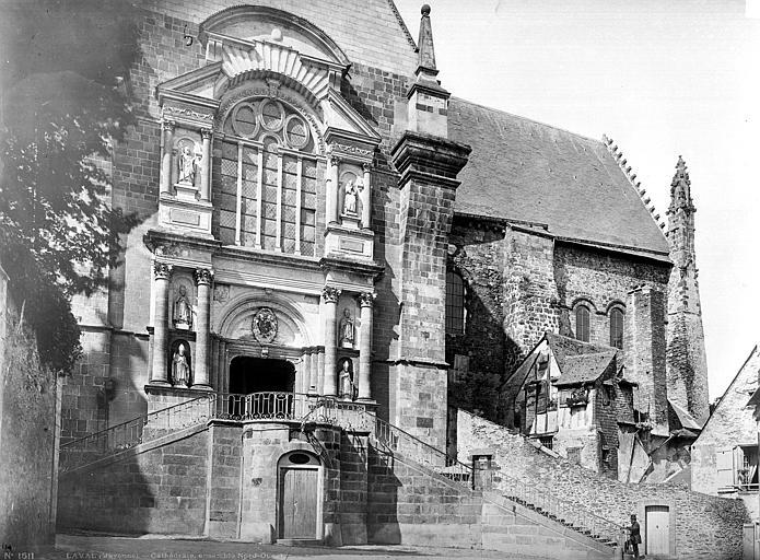 Cathédrale de la Trinité Façade nord au niveau du transept, Mieusement, Médéric (photographe),