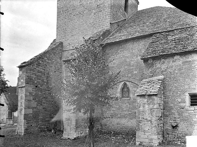 Eglise Notre-Dame de Mouthier-le-Vieillard Façade sud : Partie ouest, Gossin (photographe),