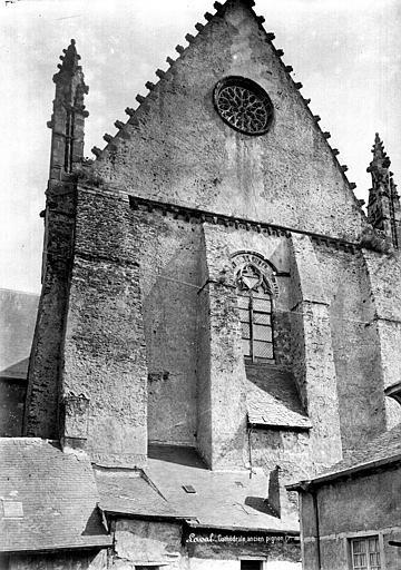 Cathédrale de la Trinité Grand pignon nord, Mieusement, Médéric (photographe),