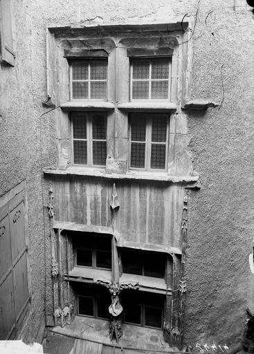 Maison Porte, partie supérieure, Manens,