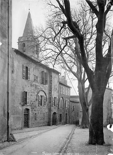 Cathédrale Saint-Aiguif (ancienne) Façade nord sur rue, Mieusement, Médéric (photographe),