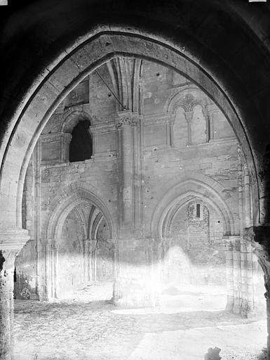 Chapelle Saint-Evremond Nef, bas-côté, côté sud, Durand, Eugène (photographe),