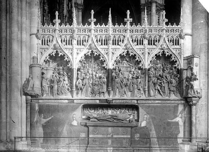 Cathédrale Notre-Dame Clôture du choeur : Vie de saint Firmin, Mieusement, Médéric (photographe),