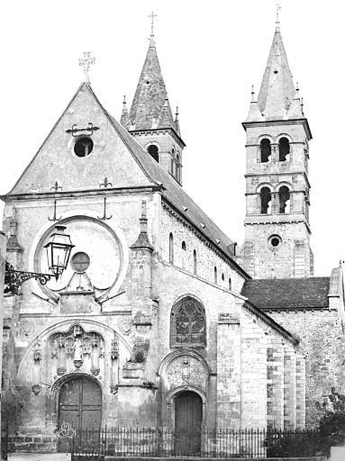 Eglise Notre-Dame Ensemble ouest, Durand, Eugène (photographe),