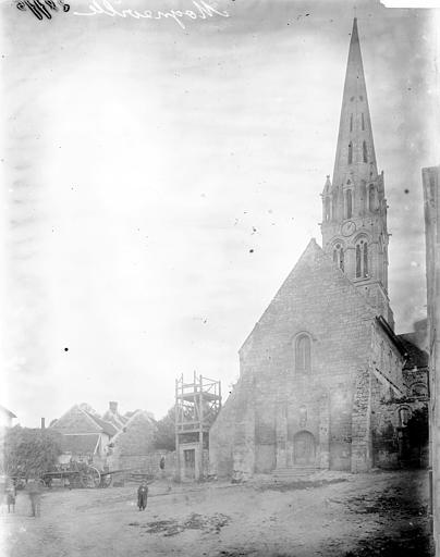 Eglise Ensemble ouest, Enlart, Camille (historien),