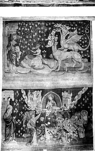 Cathédrale Saint-Maurice , Carlier (photographe), 49 ; Angers ; Musée des tapisseries