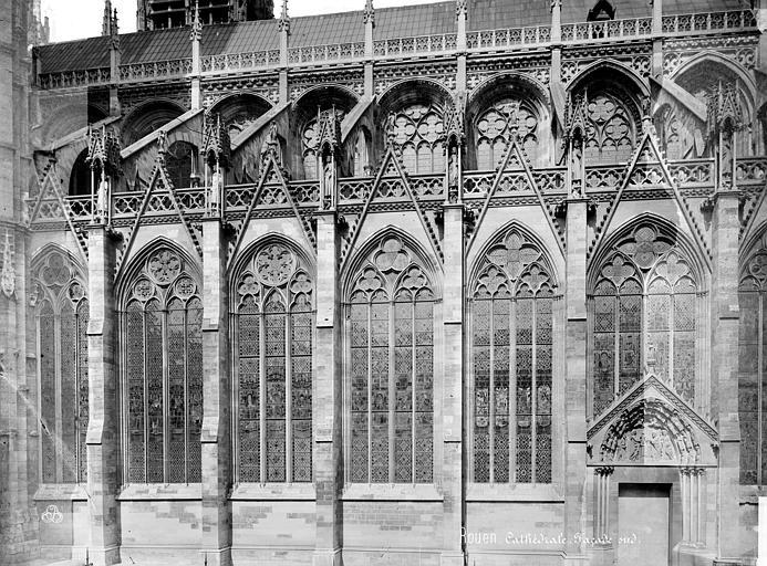Cathédrale Notre-Dame Façade sud, Mieusement, Médéric (photographe),