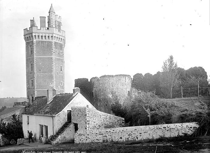 Château Tour, côté ouest, Mieusement, Médéric (photographe),