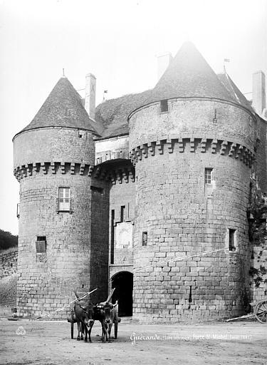 Remparts Porte Saint-Michel, Mieusement, Médéric (photographe),