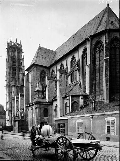 Eglise Saint-Martin Ensemble sud-est, Enlart, Camille (historien),